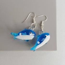"""Серьги """"Дельфины"""""""
