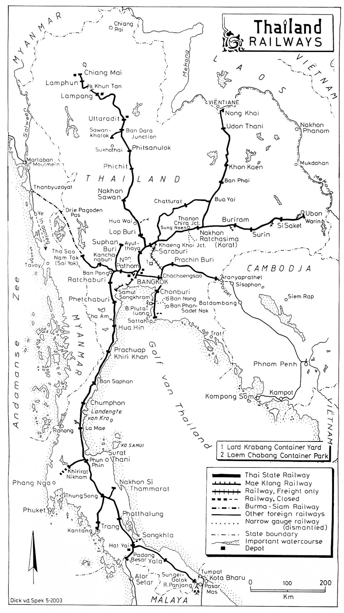 Thailand-Railroad-Map